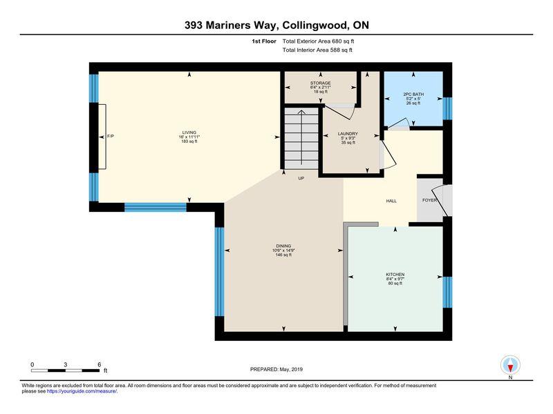 393 Mariners Way, Collingwood, Ontario  L9Y 5C7 - Photo 33 - RP9554110366
